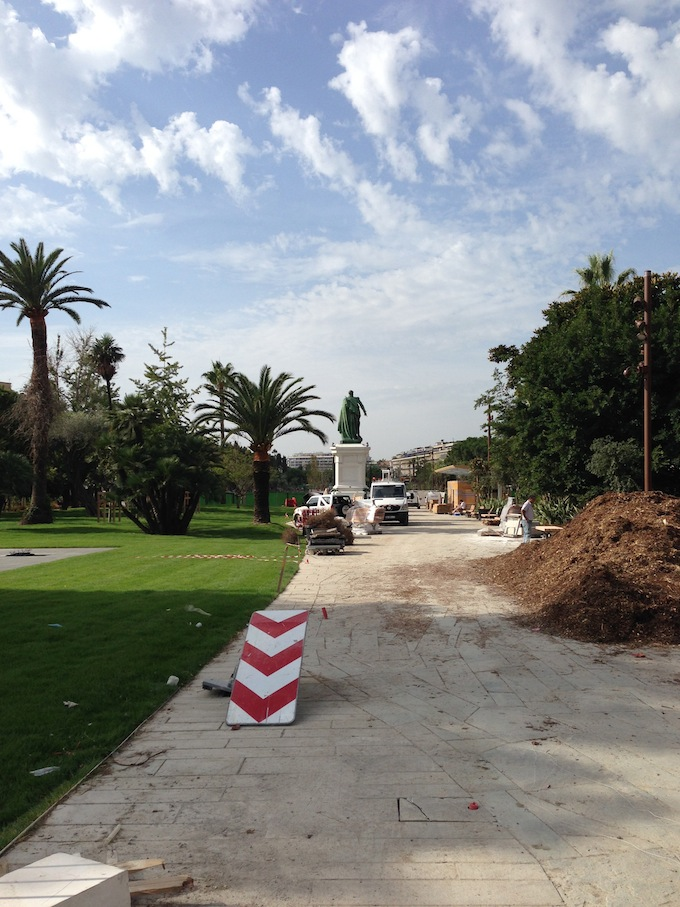 The Promenade du Paillon in Nice opens in October 2013