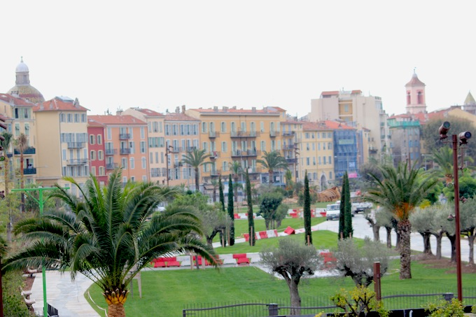 The new Promenade du Paillon in Nice