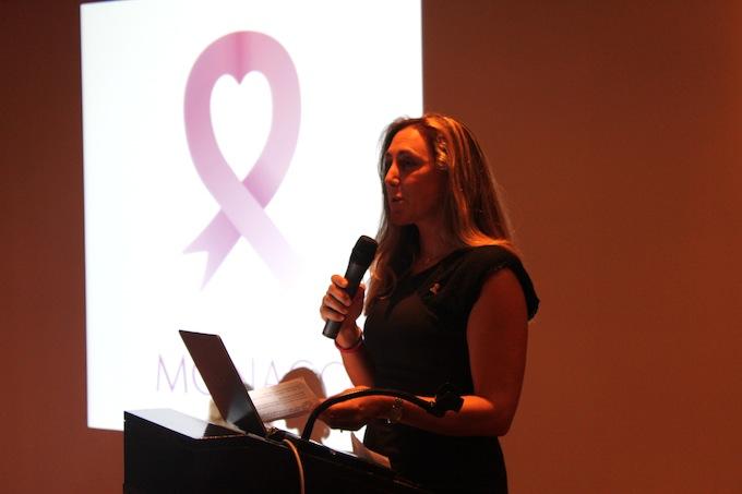 Natasha Frost of Pink Ribbon Monaco