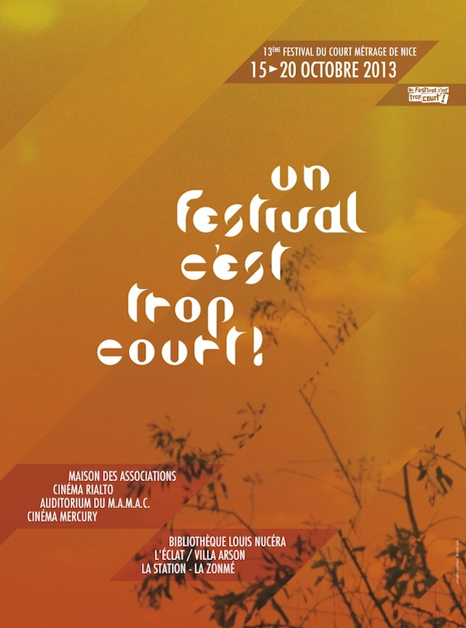 Short film festival 2013 in Nice