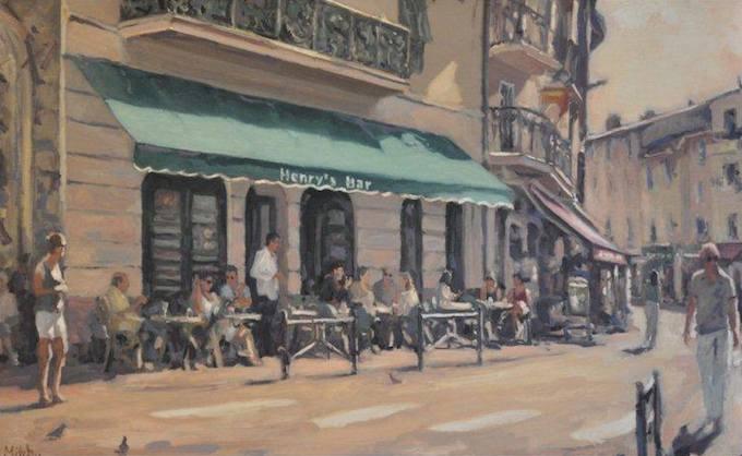 Henry's Bar by Mitch Waite