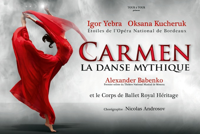 Carmen - la danse mythique in Nice Acropolis in November 2013