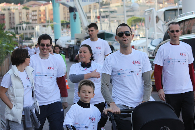 Participants at No Finish Line 2013 in Monaco