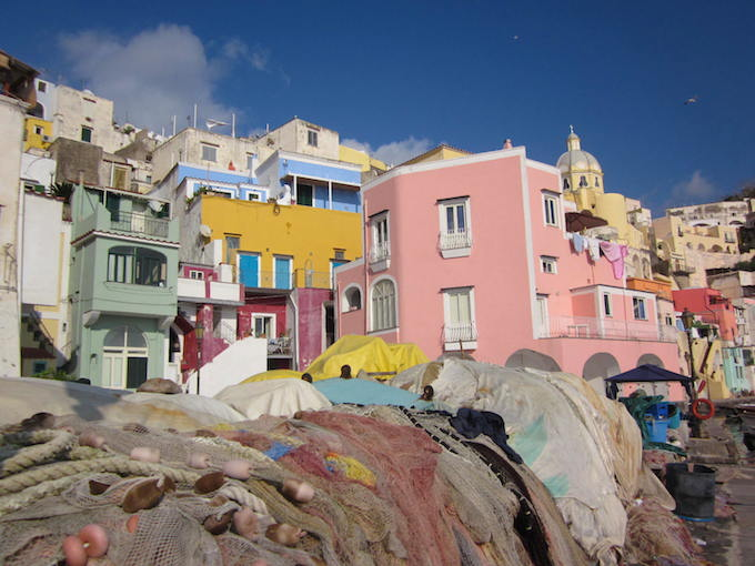 Procida, an often overlooked island, is truly spectacular