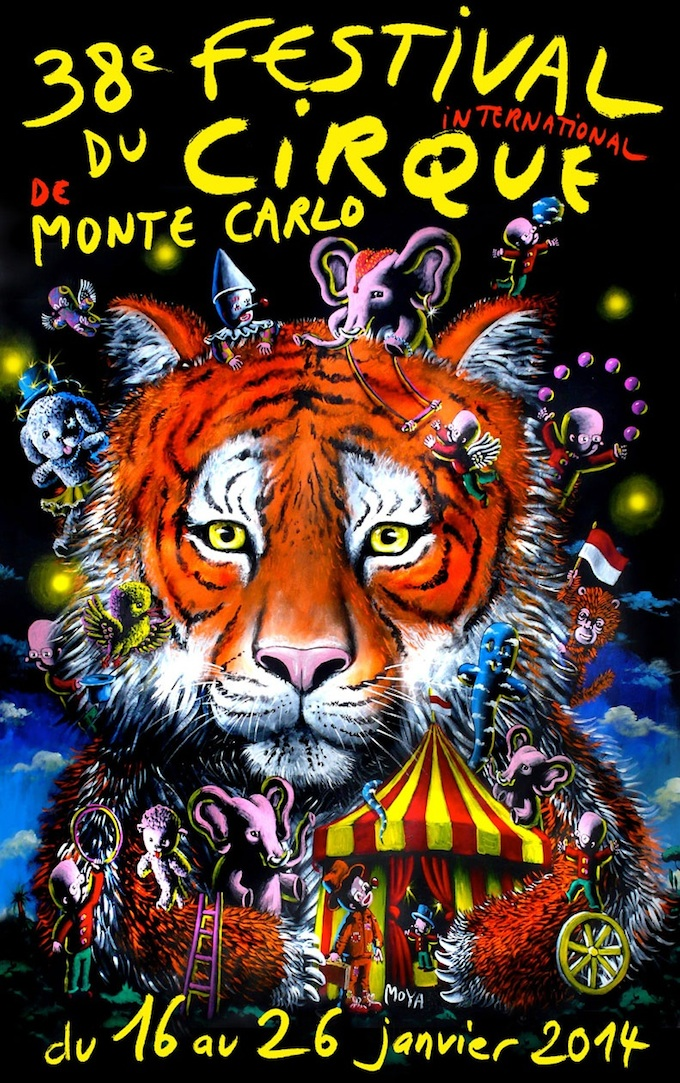 The 38th International Circus Festival in Monte-Carlo