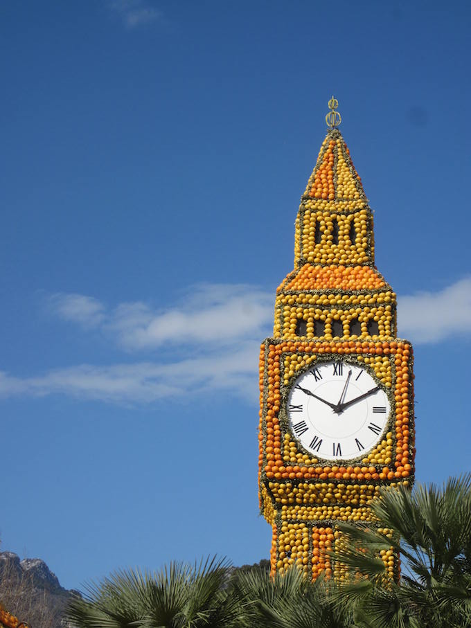 Impressive fruit creations at Fête du Citron® 2013 in Menton - Big Ben