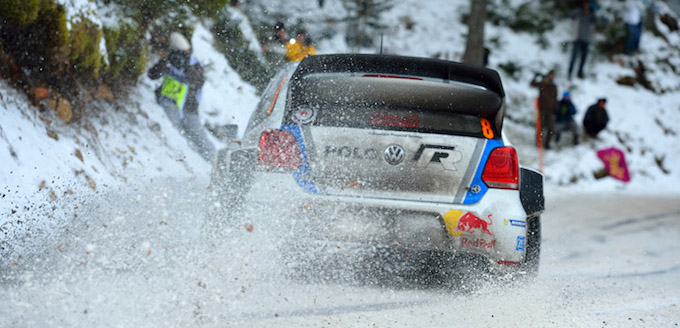 Action from the 2013 Rallye de Monte-Carlo