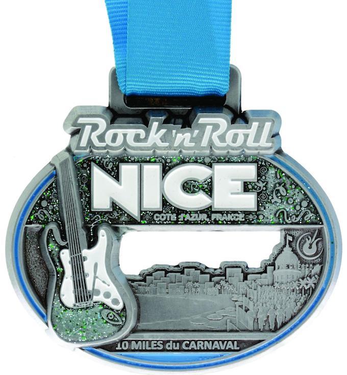 Rock 'n' Roll 10 Miles du Carnaval Nice 2013 medal