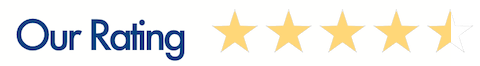 Four and a half star rating