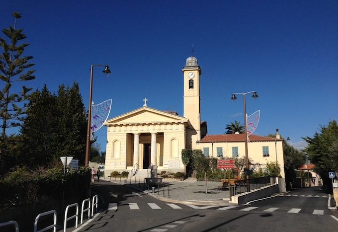Église de Saint-Roman de Bellet near Nice