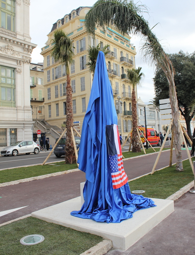 Statue of Liberty in Nice pre unveiling
