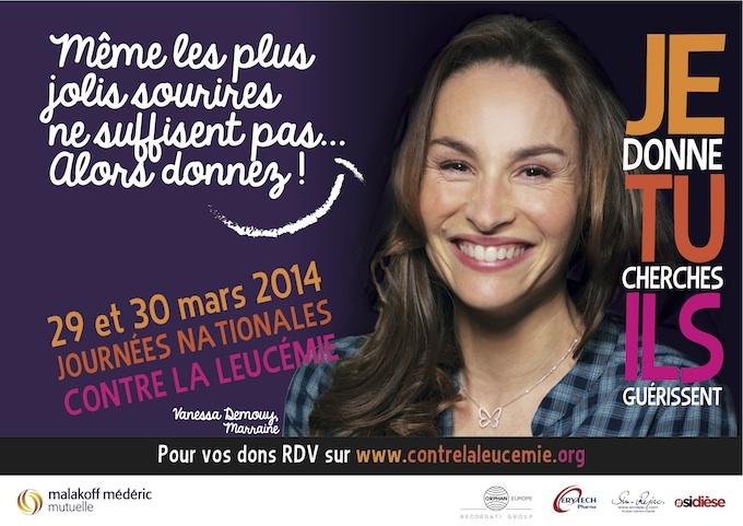 Journées Nationales Contre la Leucémie 2014