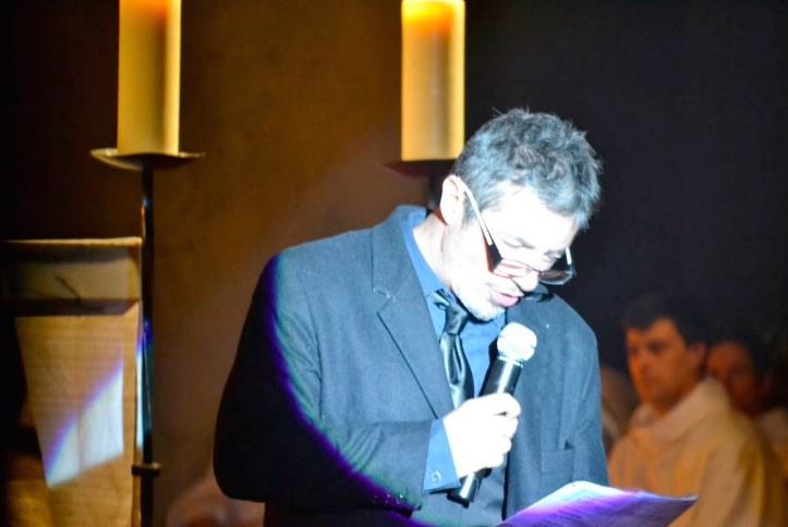 Marc Duret at Messe des Artistes in Nice