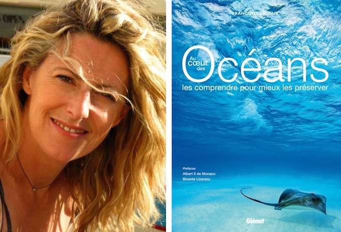 Françoise Latour and her book about the oceans