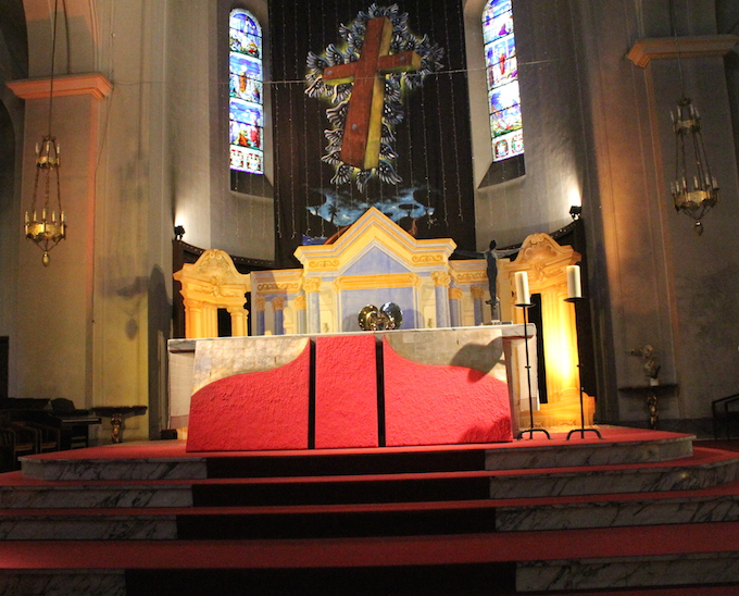 Messe des Artistes in Nice, Ash Wednesday 2014
