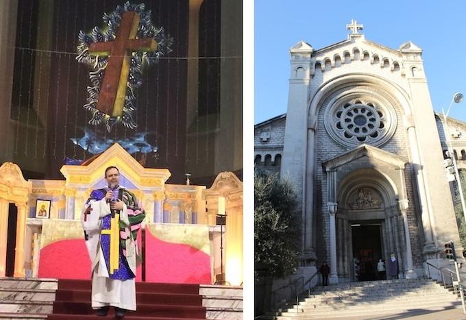 Church of Saint Pierre d'Alene in Nice