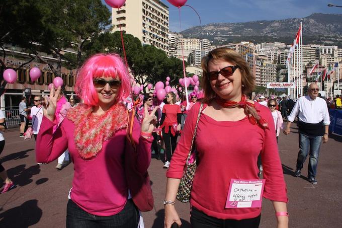 More people at the Pink Ribbon Monaco walk 2014