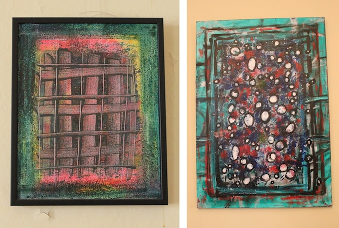 Some works by Yves-Marie Lequin, the painter priest in Nice