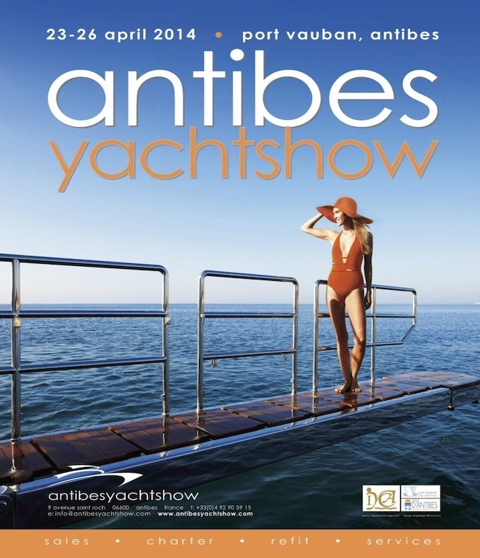 Antibes Yacht Show 2014 poster