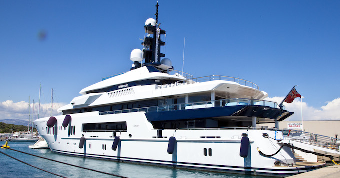 Luxury craft at the 2014 Antibes Yacht Show