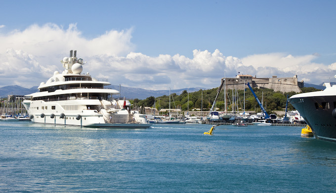 The 2014 Antibes Yacht Show