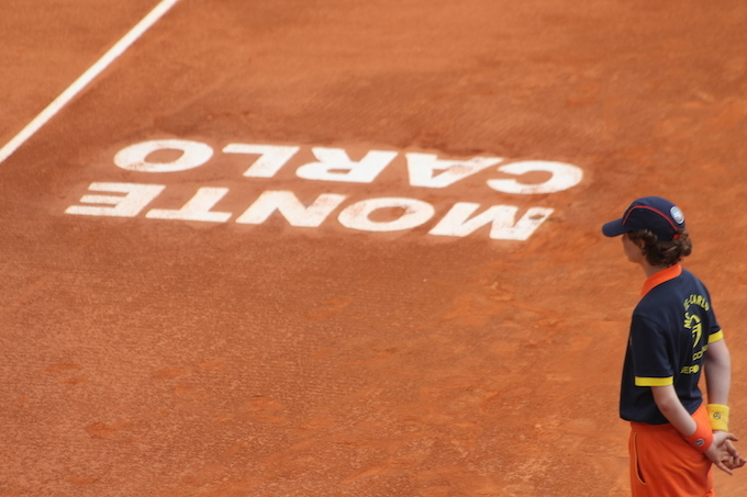 Ballboy Monte-Carlo Rolex Masters 2014