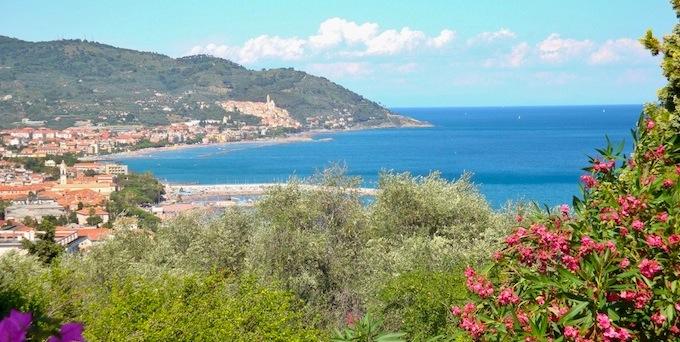 Spectacular vistas on the Italian Riviera