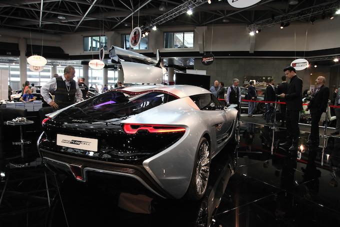Supercars at Top Marques Monaco 2014 at the Grimaldi Forum