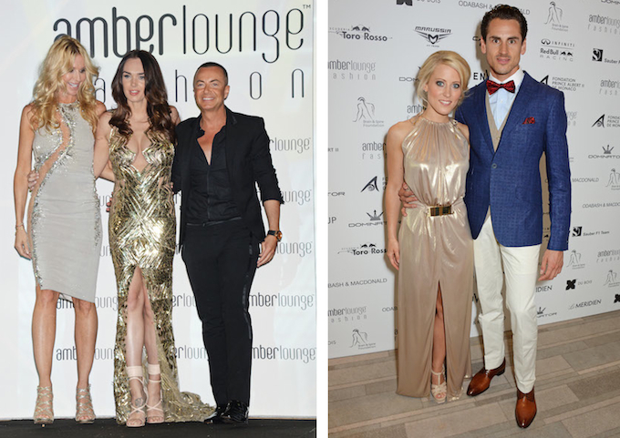 Guests at Amber Lounge Monaco