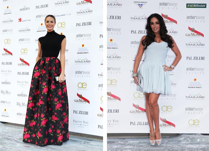 Celebrities at Amber Lounge Monaco