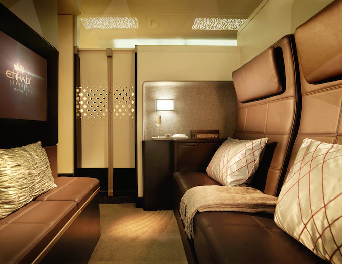 Interior view of The Residence by Etihad™