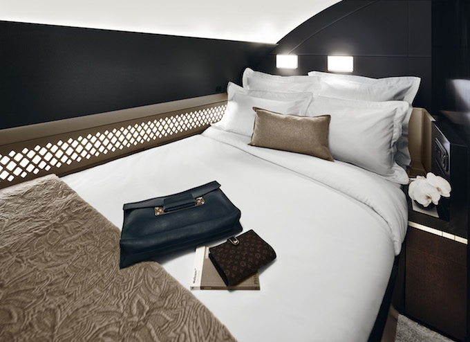 Sleeping quarters in The Residence by Etihad™