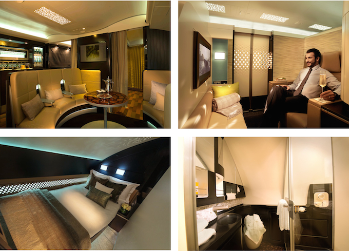 The Residence by Etihad - luxury in the air