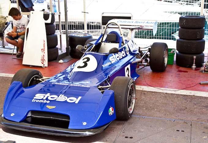 Car from Historic GP 2012 in Monaco