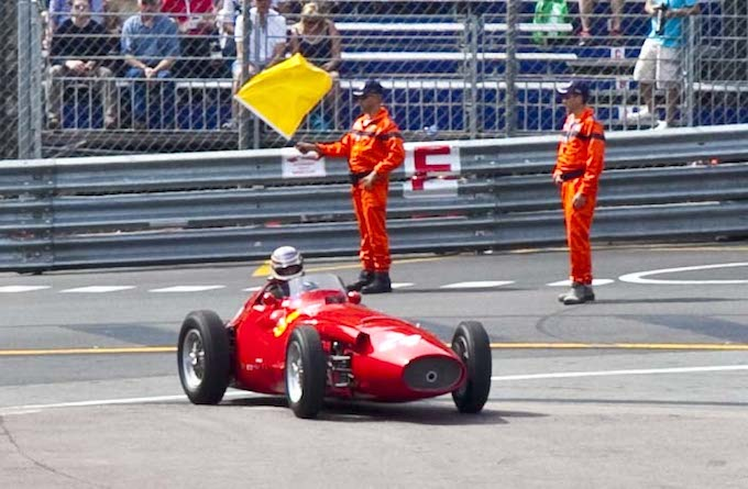 Action from the 2012 Historic GP in Monaco