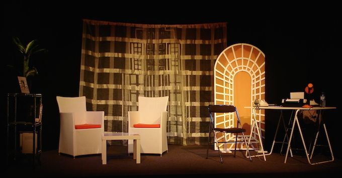 La Visite set by Théâtre du Bocal in Nice