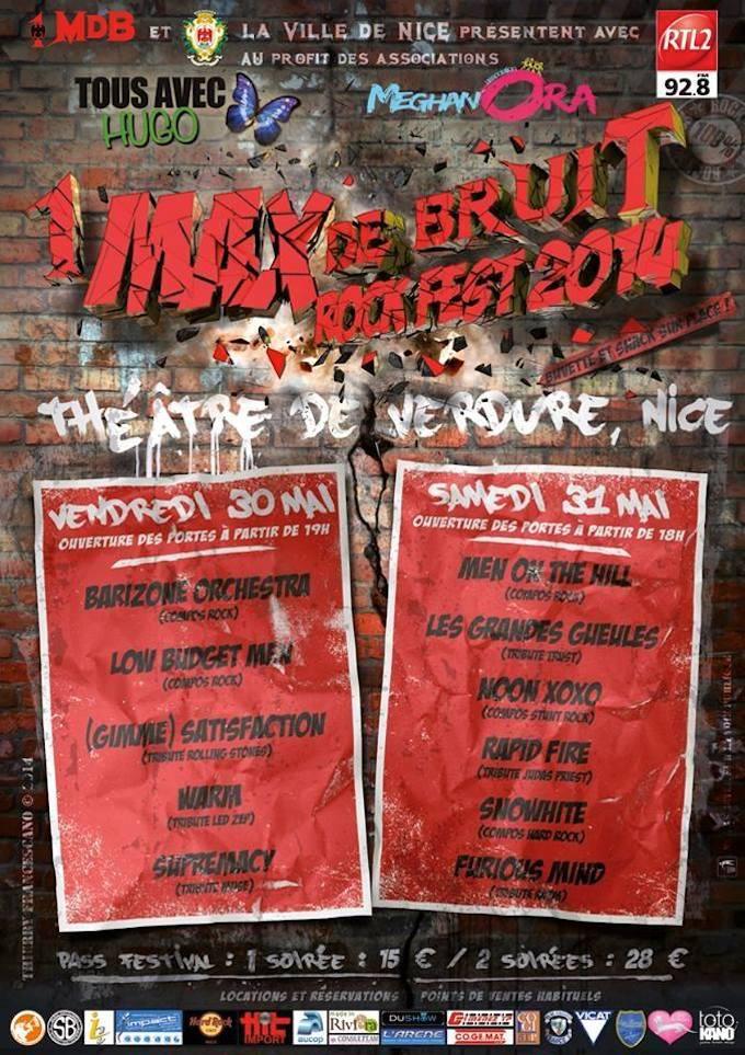 1 Max de Bruit Rock Festival in Nice