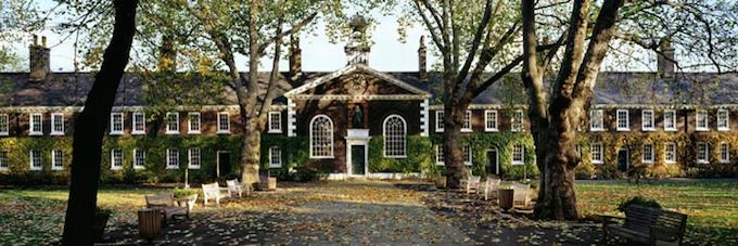 Geffrye Museum Gardens in East London