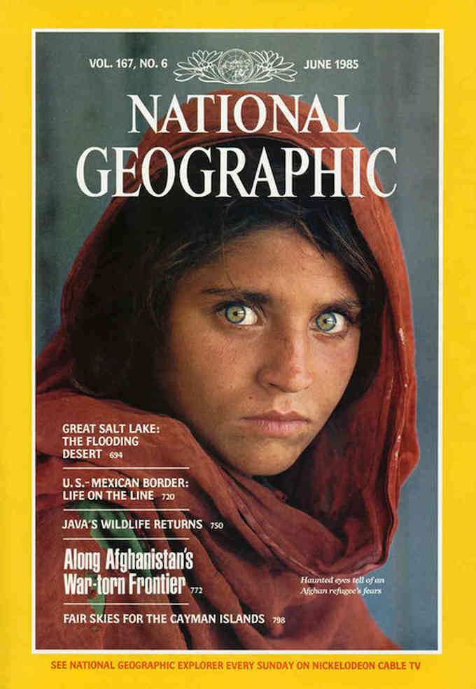 National Geographic magazine June 1985