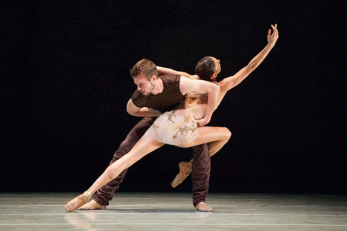 Still from Writing Ground by Alonzo King © Margo Moritz