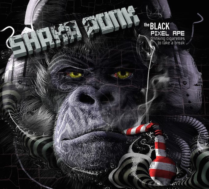Shaka Ponk new album The Black Pixel Ape