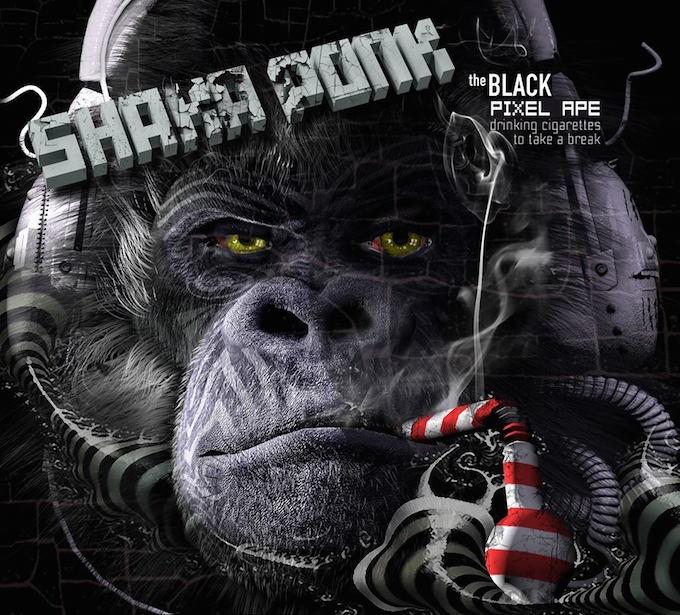 Shaka Ponk new album The Black Pixel Ape