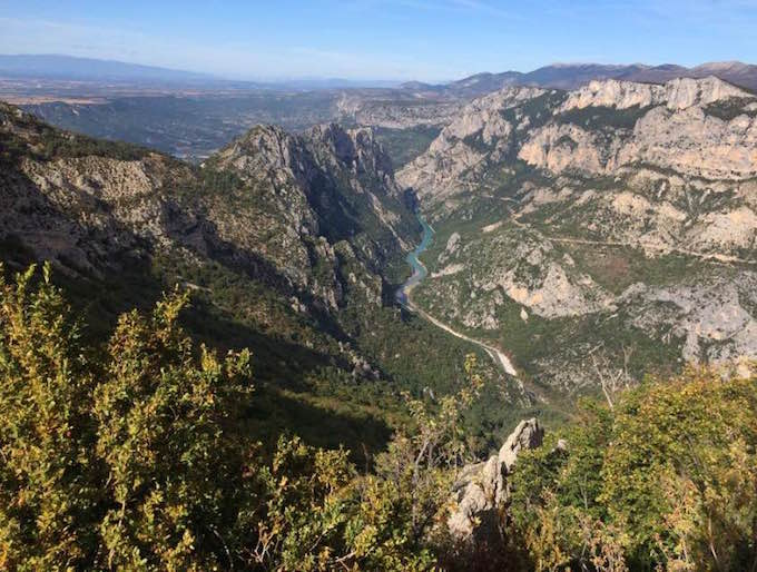 The Grand Canyon of Europe - Les Gorges du Verdon in France