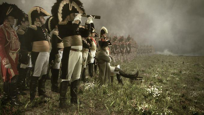 Napoleon, 1812 Feu et Glace on ARTE