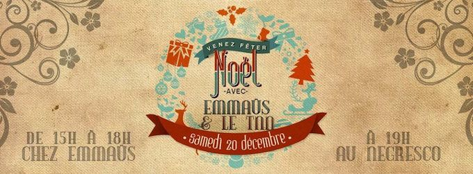 Christmas with the TNN and Emmaus in Nice this December