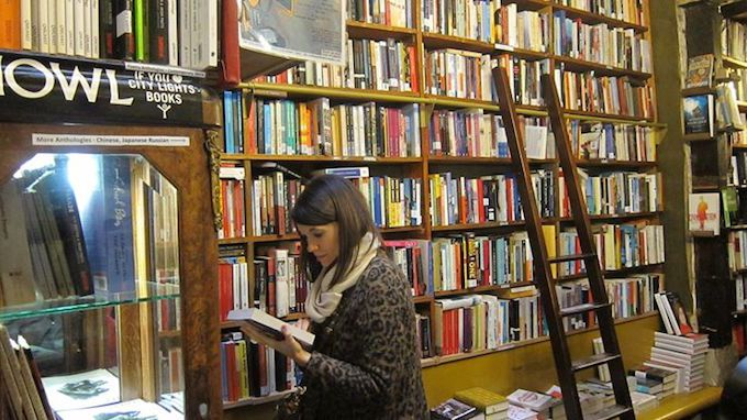 Shakespeare and Co in Paris © Marta Lopez