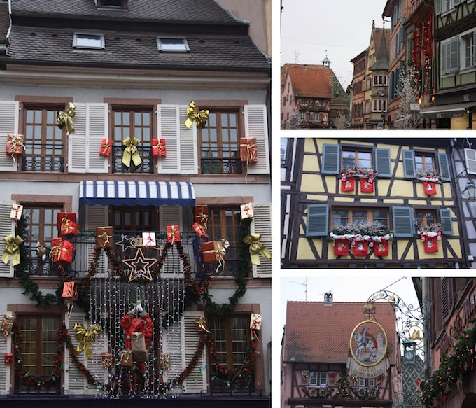 Houses in Colmar in Alsace