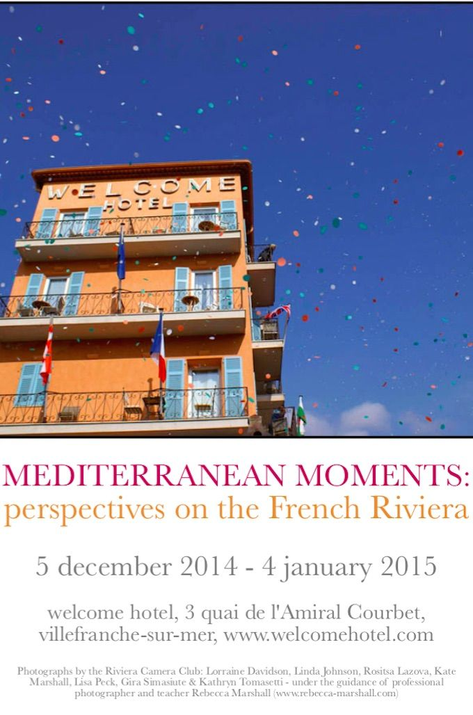 Mediterranean Moments photographic exhibition at Villefranche sur Mer
