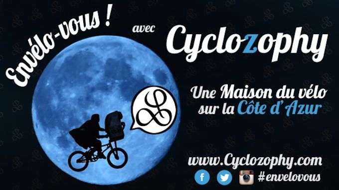 Cyclozophy for bike repair on the French Riviera