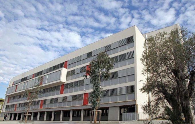 The Lycée Les Eucalyptus in Nice